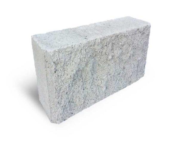 Блок колотий білий