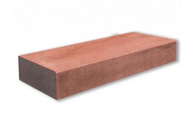 Сходинка бетонна червона