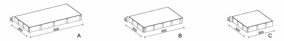 Схема креслення бруківки Новатор 6